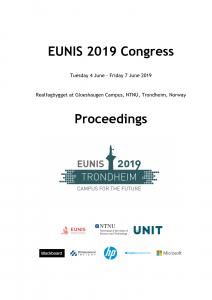 Cover EUNIS 2019 Proceedings