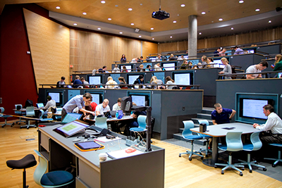 R2 auditorium in Realfagbygget at NTNU