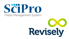SciPro and Revisely logos